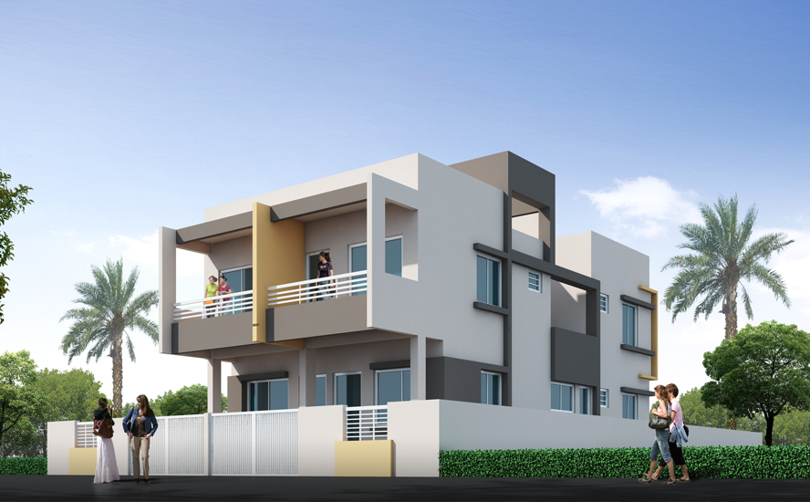 Vyankatesh Affable Flats Luxurious Row House